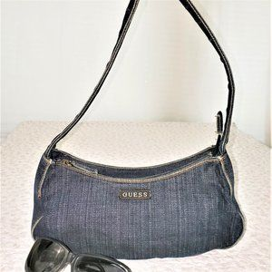 Guess Denim Mini Purse